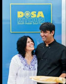 Dosa Kitchen author photo